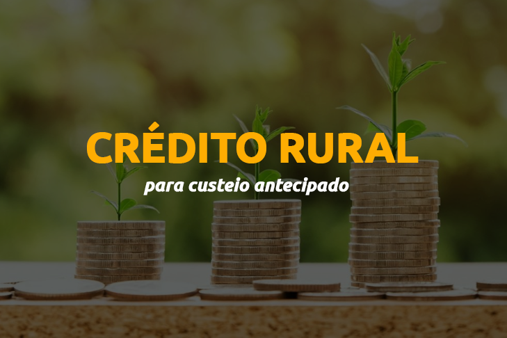 Crédito Rural para custeio antecimado