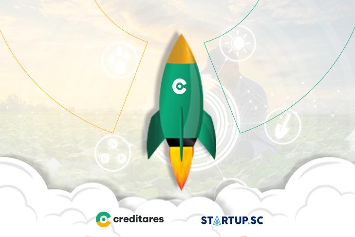 Creditares é selecionada em projeto da Startup SC e Sebrae